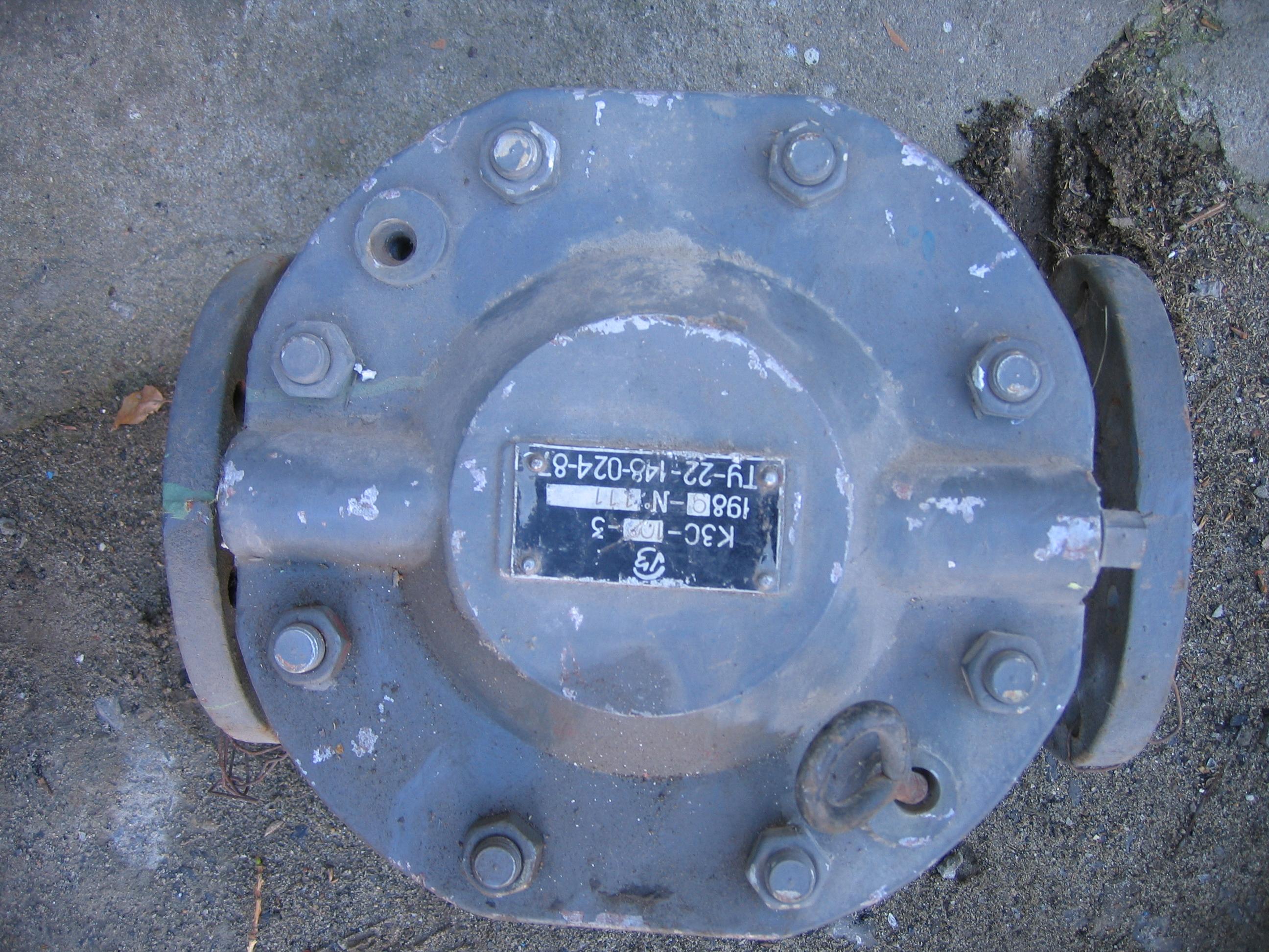 Клапан КЗС-100-3 Ду-100 Ру-16б