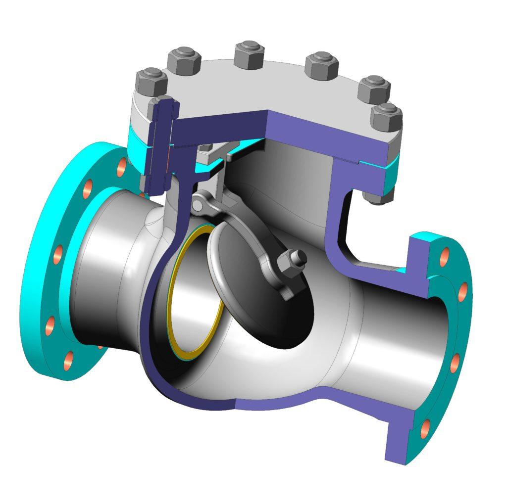 Клапан обратный КОП 80-40 ХЛ1